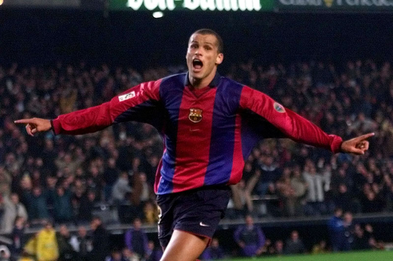 Image result for rivaldo barcelona